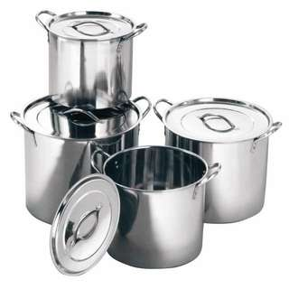 Panci Stainless Steel Stock Pot