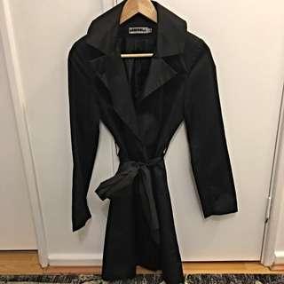 Black Tench Coat