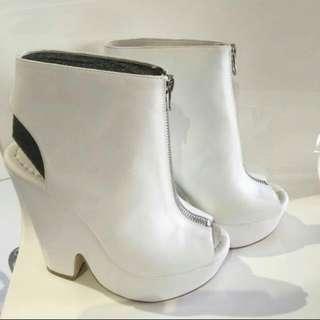 White Bonbon Shoes