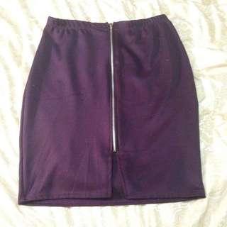 Size 14 Boohoo Skirt
