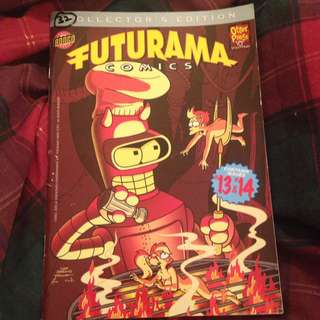 Futurama Comic- Collector's Edition Containing Issues #13 and #14