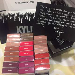 Authentic Lipkit By Kylie - On Hand!