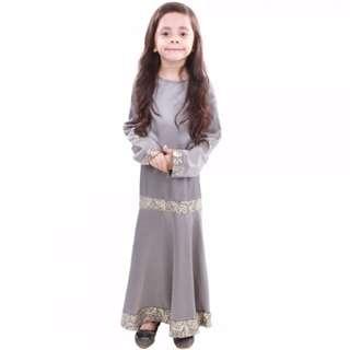 Pessa Satin Girls Dress