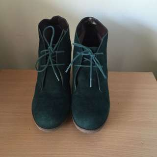 Windsor Smith Suede Boots Size 7.5