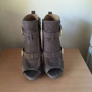 Nine West Suede Heels 7.5M