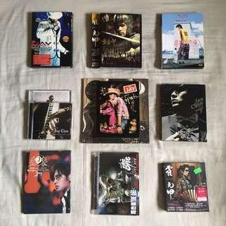 Jay Chou CD's, DVD's & Concert DVD's
