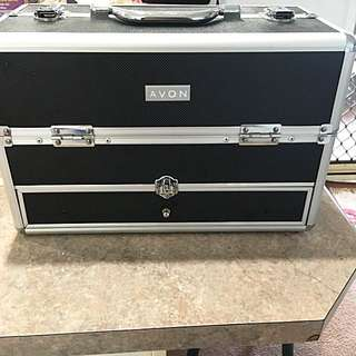 Avon Makeup Case With Product