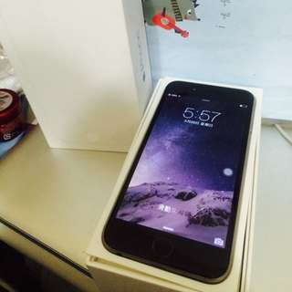 Iphone6 Plus 16g黑 無傷