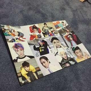 EXO and BAEKHYUN posters