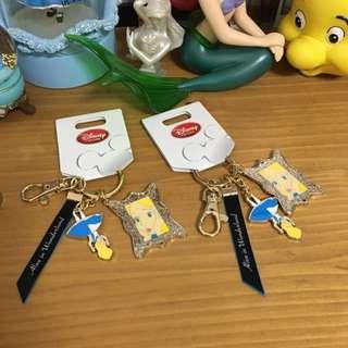 Disney 愛麗絲鑰匙圈