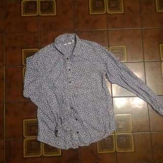 Uniqlo花襯衫(二手)