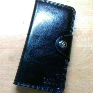 (免運)時尚 簡單 磁扣卡片多層夾