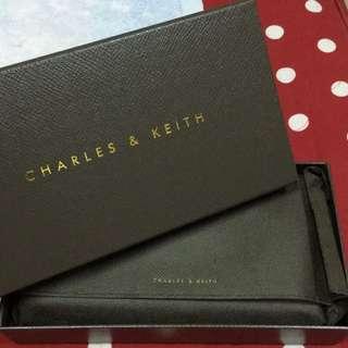 Charles&Keith 新加坡小ck 黑色長夾