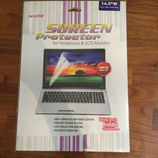 "Nikos Screen Protector 14.0""W 175mm x300mm Widescreen"