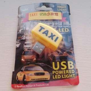 <全新> Taxi 小夜燈