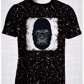 Plus Size Men's Clothing Gorilla t-shirt
