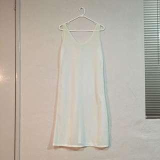 Creamy White Soft Slip Size 12