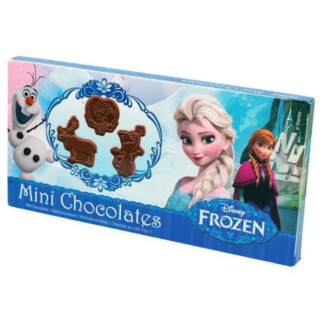 冰雪奇緣牛奶巧克力75g