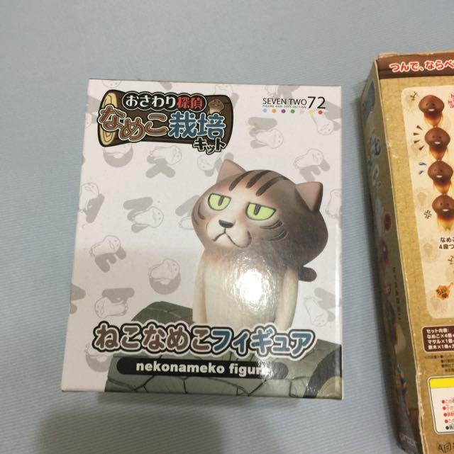 貓頭菇模型 ねこなめこ