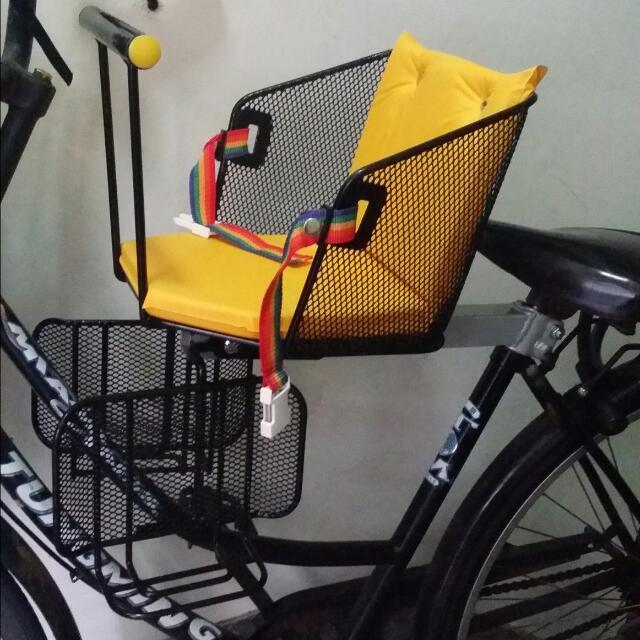 腳踏車 兒童座椅 前後可裝