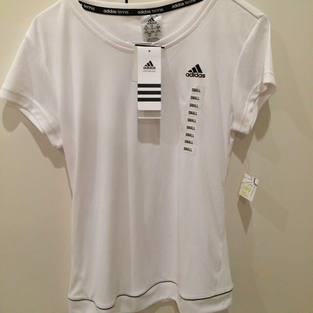 Adidas Tennis white shirt