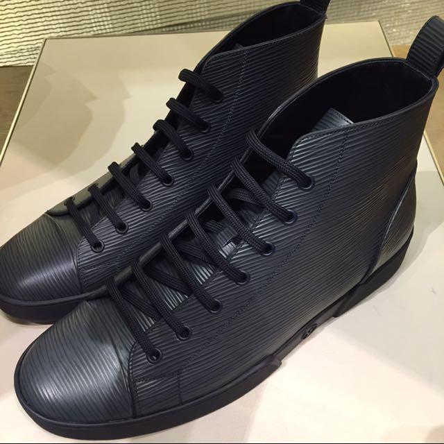 6e030bbc1de6 Authentic Louis Vuitton Match-Up Sneaker Boot