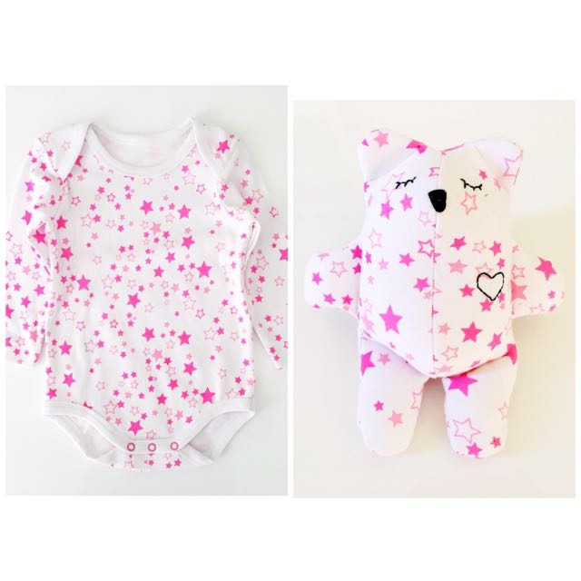 Baby Romper Memory Bear