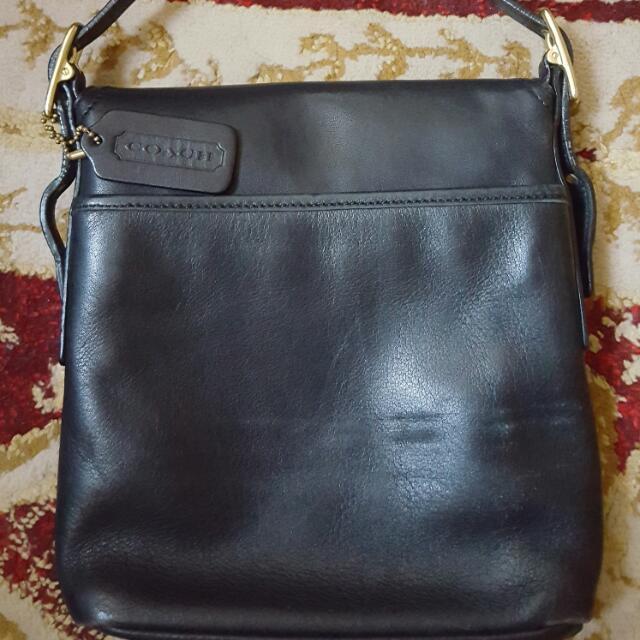 Black Sling Coach Bag