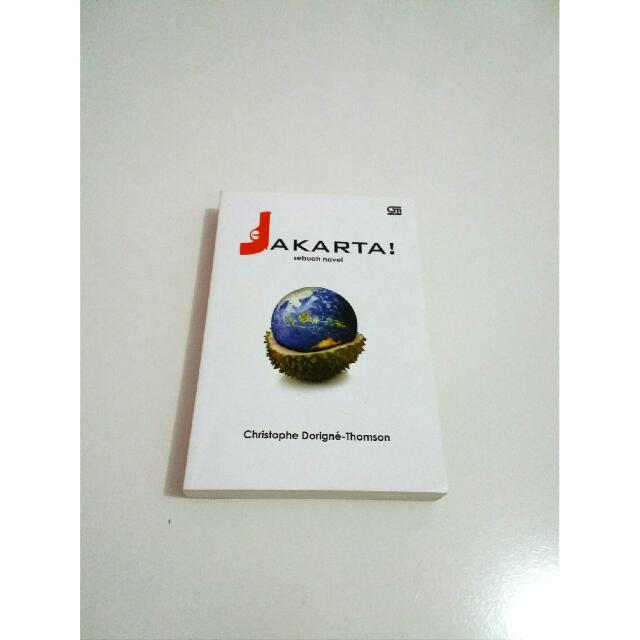 """Buku Novel """"Jakarta"""""""