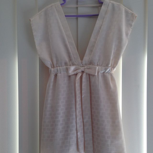 Creamy-Yellow Coloured Cooper St Dress, Size 12.