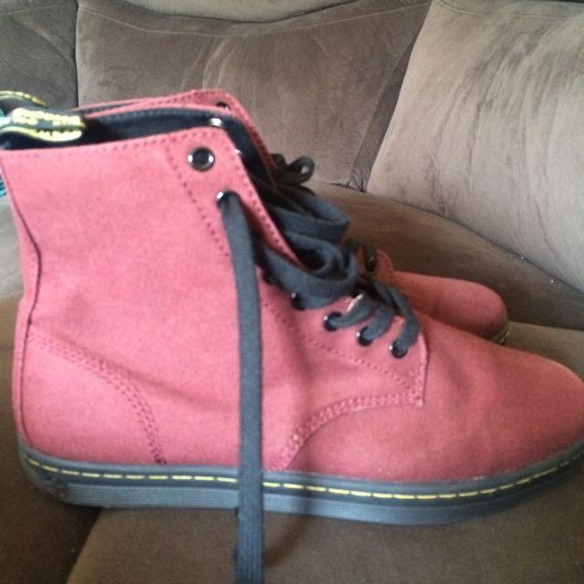 Dr Martens Alfie Suede Shoes