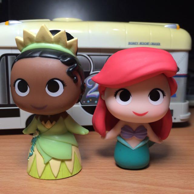 Funko Minis 盒抽 蒂安納+小美人魚組合
