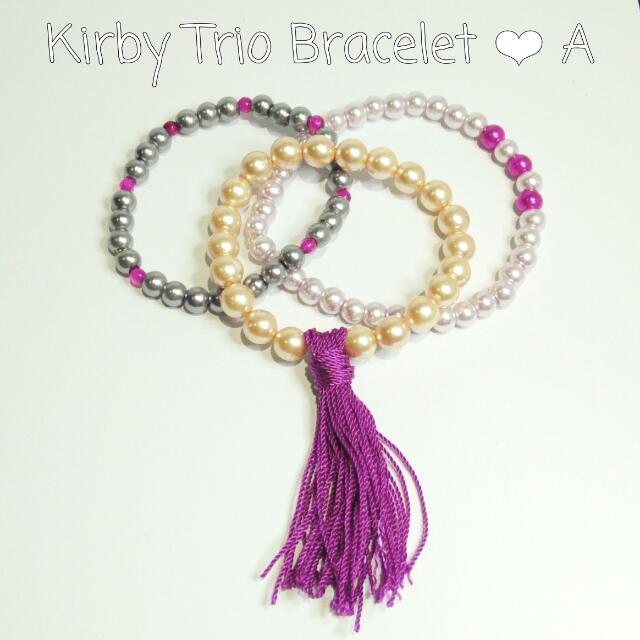 Handmade Trio Bracelet