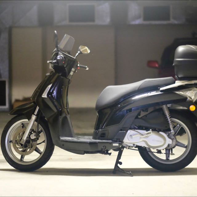 Kymco People 200 Black Scooter Rego Insured