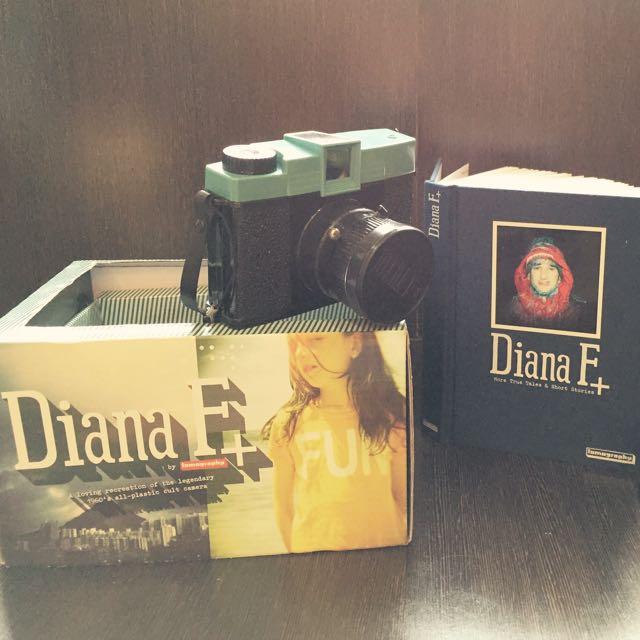 LOMO Diana f+/ Superheads/ Samsung 底片機