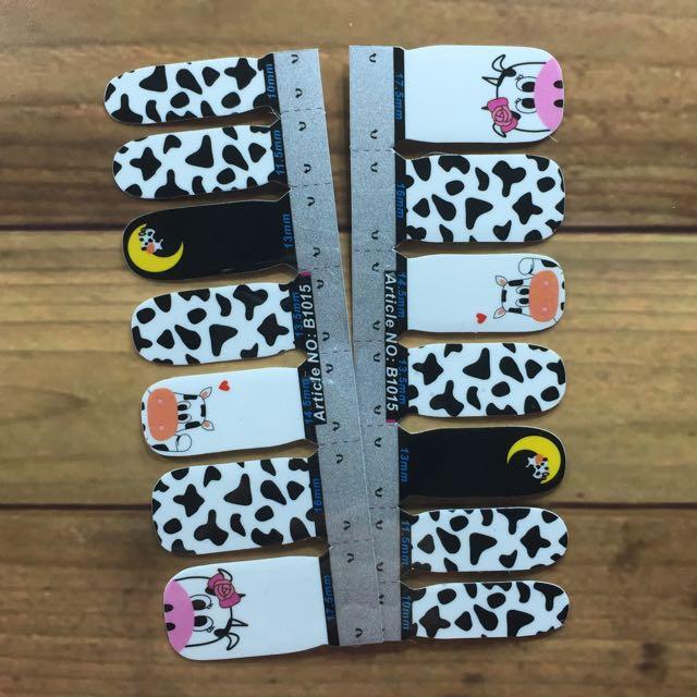 Nail Sticker B1015