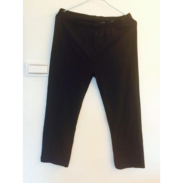 NET 7分棉質legging 內搭褲