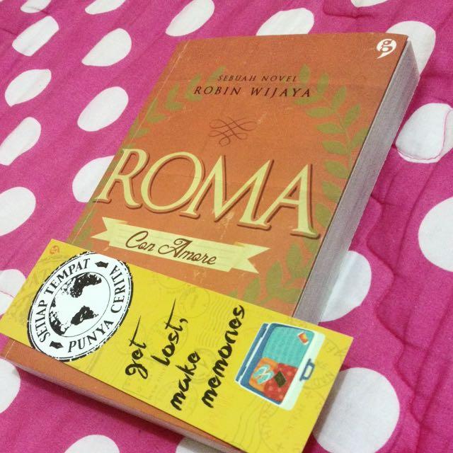 """Novel By Robin Wijaya """"Roma"""""""