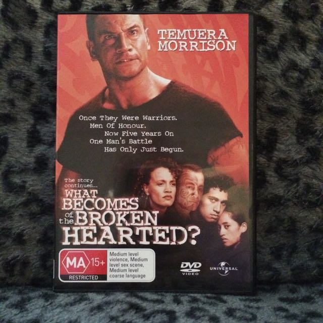 Once Were Warriors 2: What Becomes Of The Broken-Hearted? DVD