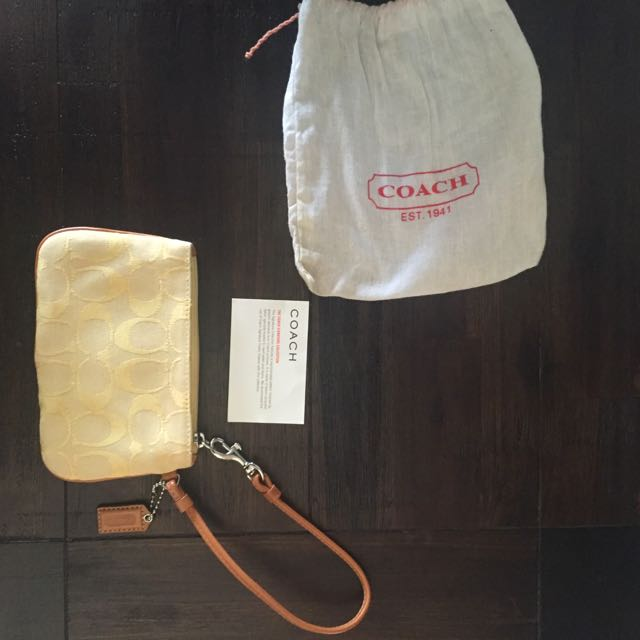 Original Coach Vintage Clutch