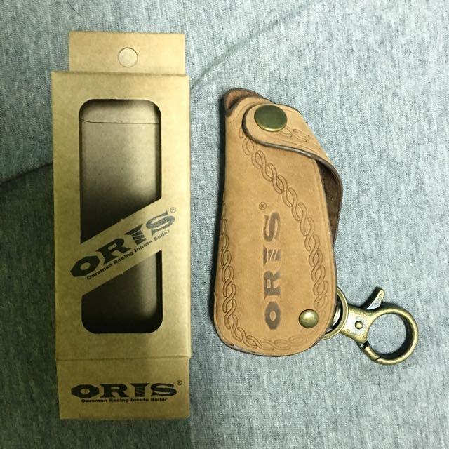 Oris皮革 鑰匙包 全新