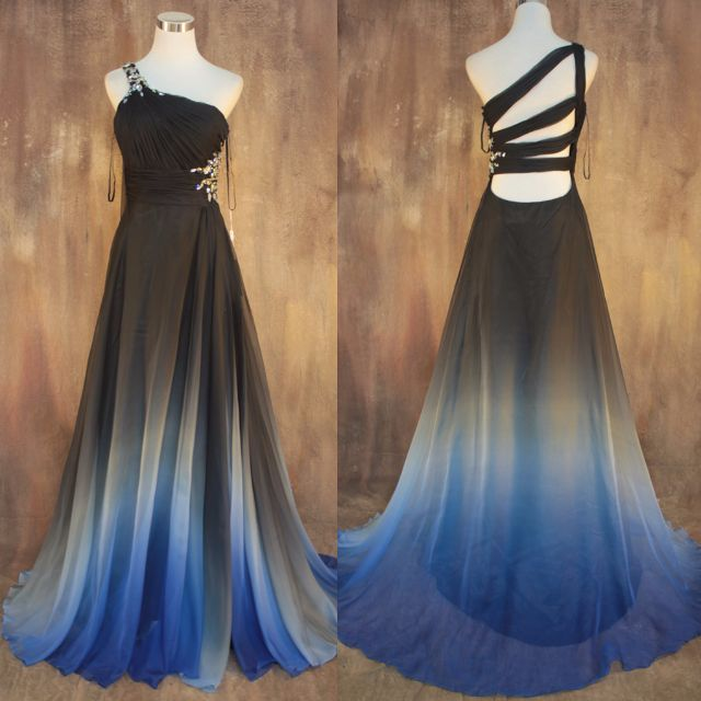 PO] Toga Ombre Evening gown, Women\'s Fashion on Carousell