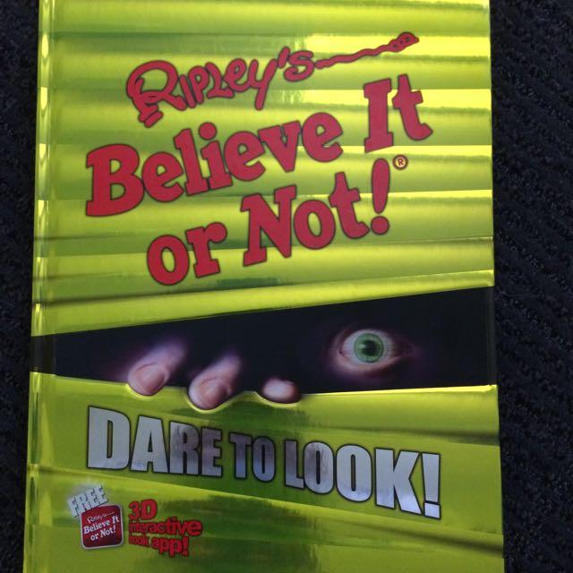 Ripley's 'Believe It Or Not!' Book