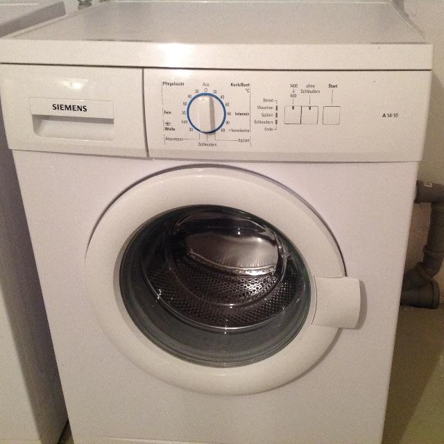 Siemens Washing Machine 5 Kgs Made In Germany Model A 14