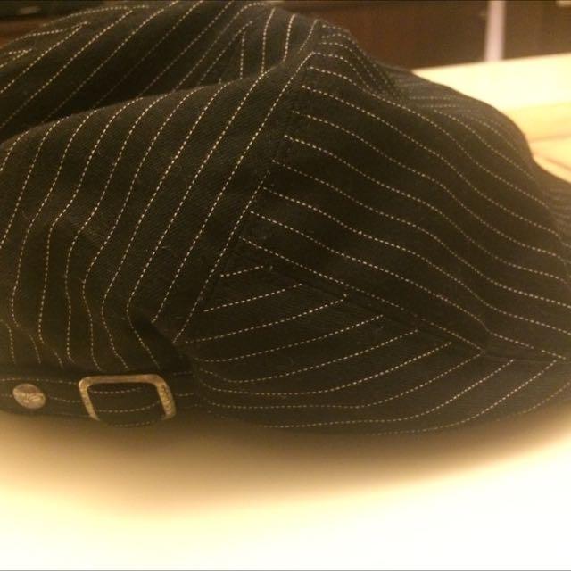 TAKI小偷帽(黑底條紋)