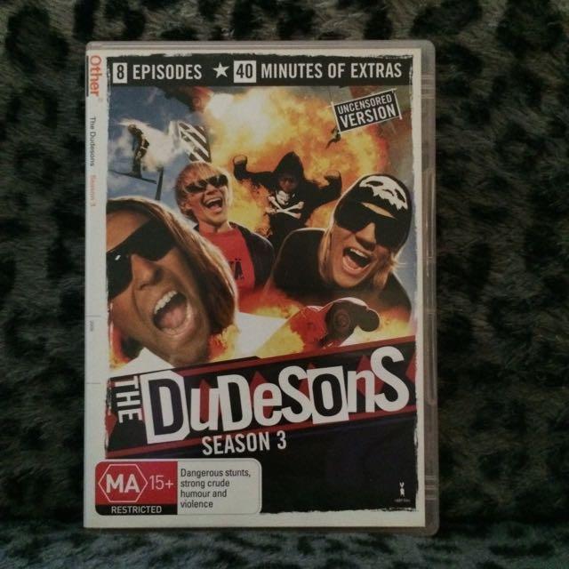 The Dudesons Season 3 DVD