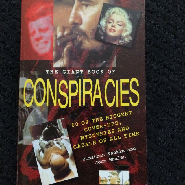 'The Giant Book Of Conspiracies' Book