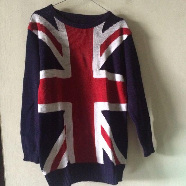 Uk Flag Sweater