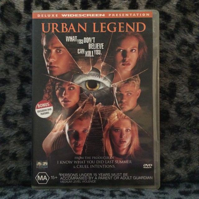 Urban Legend DVD