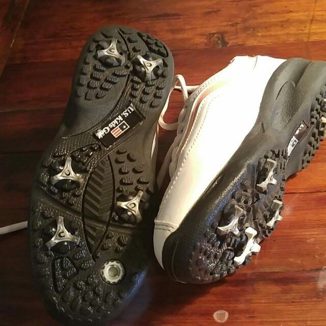 Us Kids Golf Shoe  Size 34